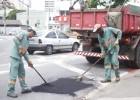 Prefeitura de Itabira inicia operação tapa-buraco