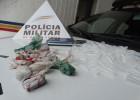 PM faz buscas e encontra drogas em casa usada por líder do tráfico