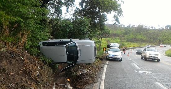 Feriadão teve 340 acidentes nas estradas federais que passam por Minas