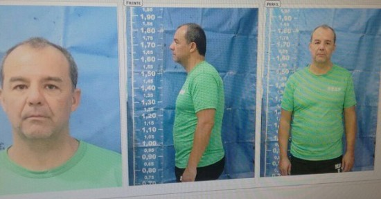 Sérgio Cabral tem cabeça raspada após chegar a presídio do Rio