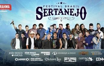 Festival Brasil Sertanejo acontece nos dias 5 e 6 de maio, em Belo Horizonte