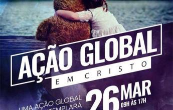 """A """"Igreja em Itabira"""" e o ministério itinerante Ação Global em Cristo realizam no próximo domingo, dia 26"""